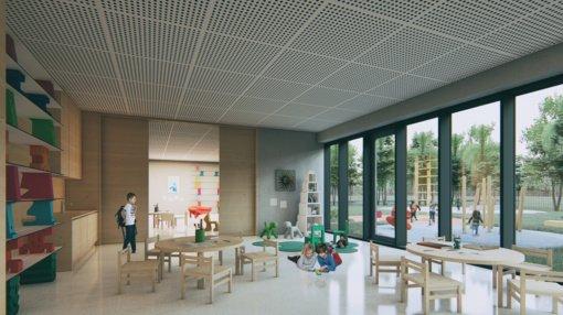 Kauno rajone pradėtas Mastaičių baseino renovavimas ir trijų mokyklų statybos