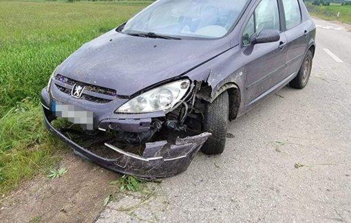 Vilniaus rajone pasieniečiams įkliuvo ženklą nuvertęs visiškai girtas vairuotojas
