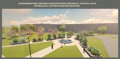 Prie Ukmergės ligoninės kuriamą parką siūloma pavadinti Svajonių parku