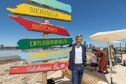 """Vilnius skelbia šios vasaros turizmo sezono šūkį – """"Poilsis, po kurio reikės pailsėti"""""""