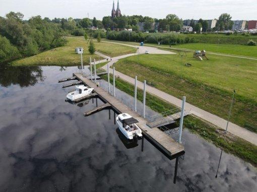 Šiandien laivyno šimtmetis minimas pirmajame Lietuvos jūrų uoste Jurbarke