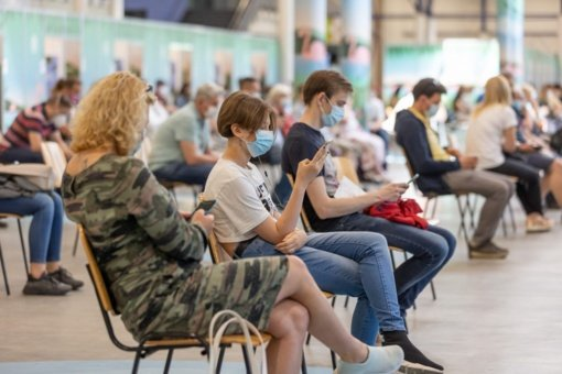 Vilnius nuo COVID-19 skiepija be registracijos