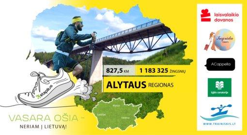 """""""Vasara ošia – neriam į Lietuvą"""": keliaujame į Alytaus regioną"""