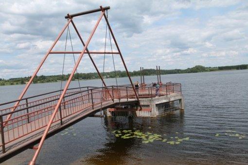 Utenos užtvankos remontas – pirmas toks nepriklausomoje Lietuvoje