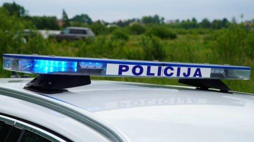 Policija sustabdė neblaivų motociklo vairuotoją