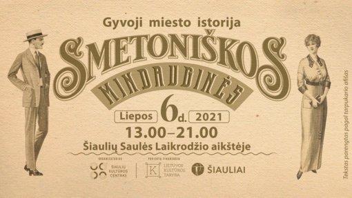 """Šiaulių kultūros centras kviečia į edukacinį gyvosios istorijos renginį """"Smetoniškos Mindauginės"""""""
