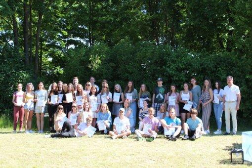 Mokslo metų baigimo šventė Simono Daukanto gimnazijoje