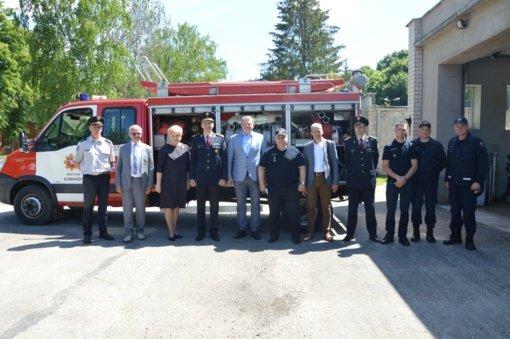 Su Priešgaisrinės apsaugos ir gelbėjimo departamento vadovais – apie pokyčius sistemoje, ugniagesių parengtį ir aprūpinimą