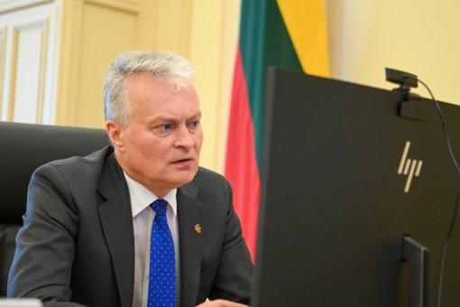 """""""Globalios Lietuvos"""" apdovanojimų laureatai atsisako priimti apdovanojimą iš G. Nausėdos"""