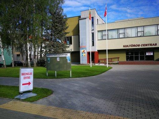 Kaišiadorių vakcinacijos centras dirbs ir per Jonines