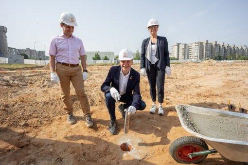 Prasideda Tolminkiemio gimnazijos statybos