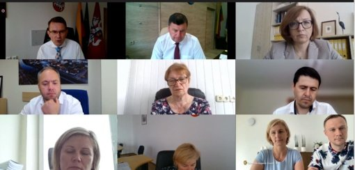 Kėdainių savivaldybės ir medicinos įstaigų vadovai susitiko su Sveikatos apsaugos ministru