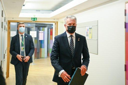 G. Nausėda susitikime su A. Gutteresu aptarė ir sparčiai blogėjančią žmogaus teisių padėtį Baltarusijoje