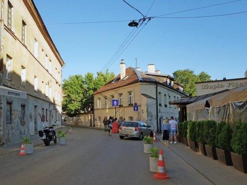Po bendruomenės balsavimo – laikini tranzitinio eismo ribojimai Paupio gatvėje