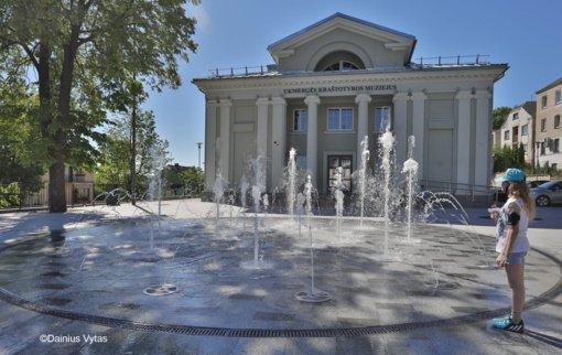Ukmergės miestą gaivins naujasis fontanas