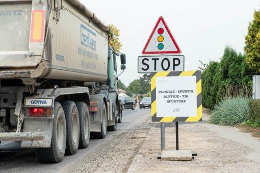 Nuo kitos savaitės ribojamas transporto priemonių eismas dalyje Ulonų gatvės