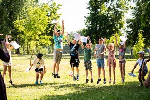 Nemokamos stovyklos Marijampolės savivaldybės vaikams vėl sulaukė didelio susidomėjimo