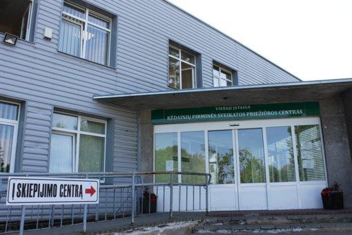Kėdainių rajono skiepijimo centras dirbs ir šeštadienį