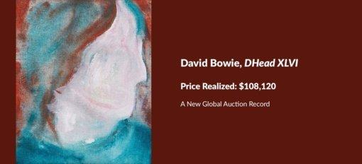 Naują pasaulio aukcionų rekordą sumušė D. Bowie portretas
