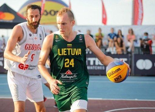 Lemiamą pergalę iškovojusi Lietuvos 3×3 rinktinė pateko į Europos čempionatą