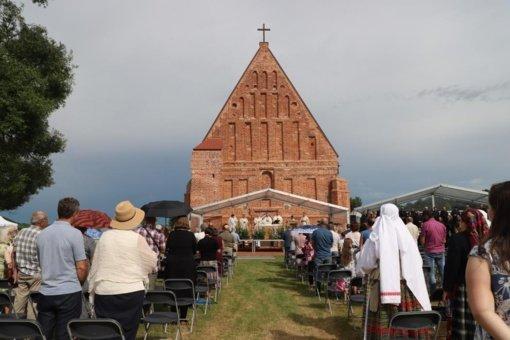 Zapyškyje įvyko Šv. Jono Krikštytojo tituliniai atlaidai