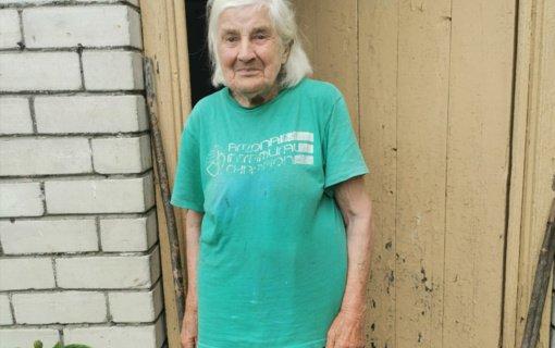 Garbaus amžiaus ignalinietė išgelbėjo savo kaimynus
