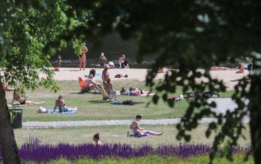 Šių metų birželis Lietuvoje – antras pagal karštumą nuo 1961 metų