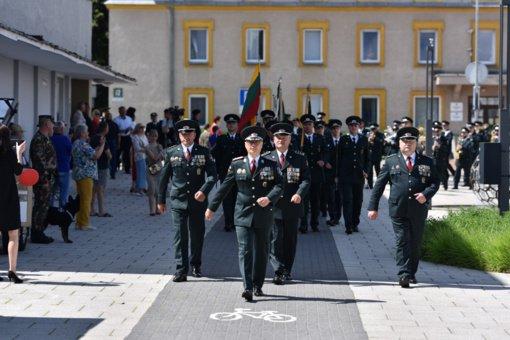 Pasieniečiai Varėnoje paminėjo profesinę šventę