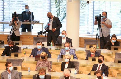 Seimo teisininkai: siūlymas įteisinti Statute šešėlinę Vyriausybę prieštarauja Konstitucijai