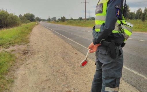 Tauragės policininkai atskleidė, kada vykdys prevenciją keliuose