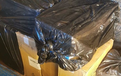 Į pasieniečių rankas pateko daugiau kaip 14 tūkstančių pakelių kontrabandinių cigarečių