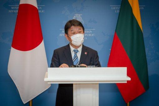 Premjerė I. Šimonytė: Lietuva vertina Japoniją kaip strateginę partnerę Azijoje