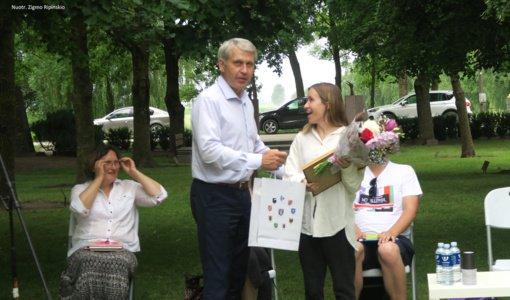 Už geriausią debiutinę poezijos knygą jubiliejinė Zigmo Gėlės premija įteikta vilnietei Ievai Toleikytei