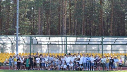 Varėnos sporto centro šventėje kiek kitaip paminėti dar vieni mokslo metai