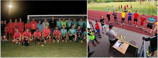Radviliškyje vyko naktinio futbolo turnyras