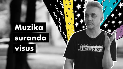 """#UNIKALU. A. Mamontovas: """"Kai skamba muzika, nėra vietos agresijai"""""""