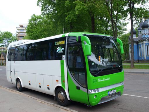 Nuo kitos savaitės viešasis transportas Druskininkuose važiuos pagal įprastus vasaros tvarkaraščius
