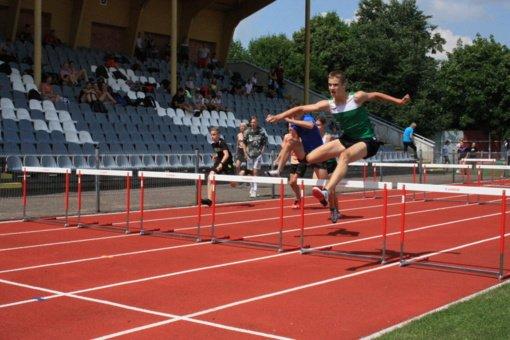 Marijampolėje vyko Lietuvos lengvosios atletikos jaunučių čempionatas