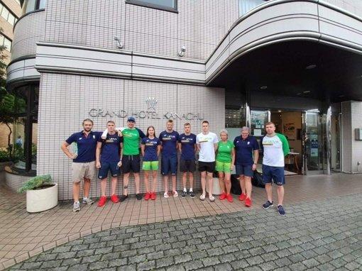 Japonijos žiniasklaida: vienam Lietuvos atletui diagnozuota COVID-19 liga, aiškinamasi su kuo jis kontaktavo