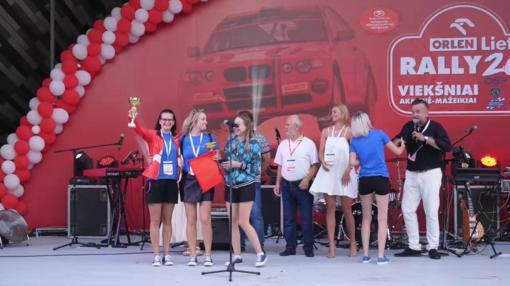 ORLEN Lietuva Ladies Go For Family, SERES Nacionalinių Vairuojančių Moterų Varžybų 2021 2-as etapas: apdovanojimų ceremonija