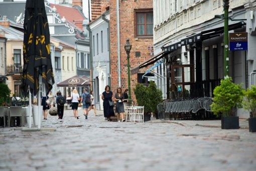 Kauno savivaldybės administracijos direktorius: verslui tikrai prireiks kantrybės, kol bus remontuojama Vilniaus gatvė