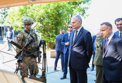 Lietuvos ir Lenkijos vadovai aptarė naujai kylančius iššūkius regiono stabilumui