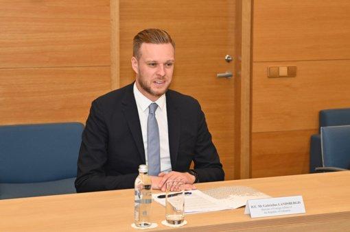 G. Landsbergis lankysis Bagdade tartis dėl migrantų grąžinimo