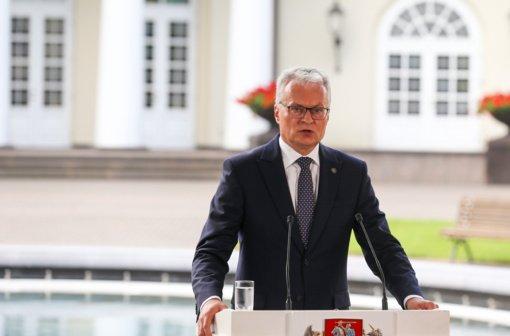 G. Nausėdos metinėje kalboje – apie migrantų krizę, Partnerystės įstatymą ir trečiuosius kadencijos metus