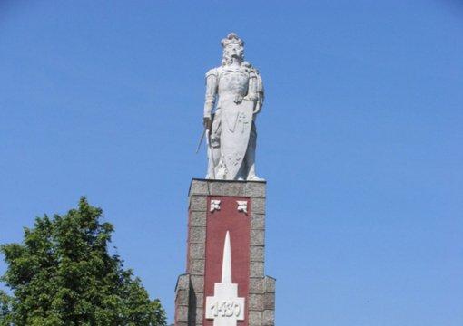 Perlojoje bus paminėtas Vytauto Didžiojo paminklo devyniasdešimtmetis