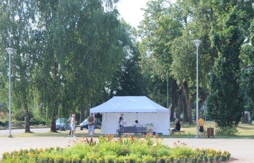 Kupiškio rajone darbą pradėjo mobilusis vakcinacijos punktas
