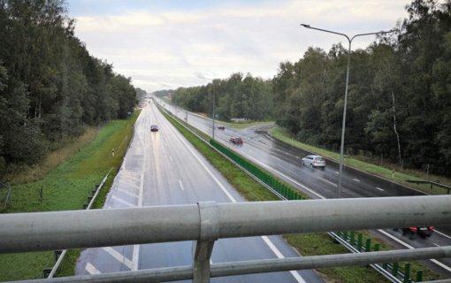 Iki šių metų pabaigos A1 kelio atkarpa nuo Vilniaus iki Kauno taps automagistrale