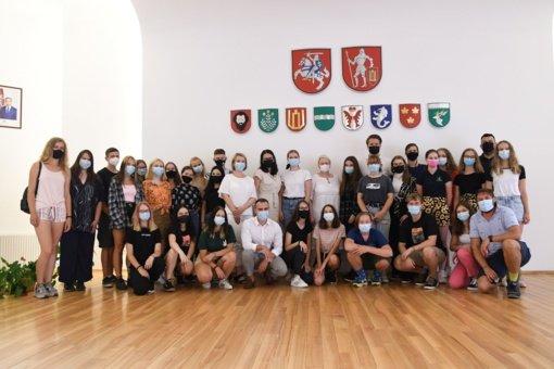 Lietuvos jaunimo atstovai domėjosi galimybėmis veikti Trakuose