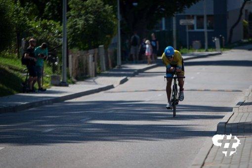 Triatlono metu Jonavoje bus ribojamas eismas