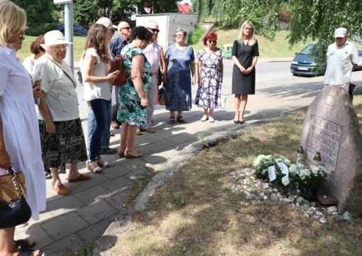 Paminėtos Holokausto pradžios ir Šiaulių geto uždarymo metinės